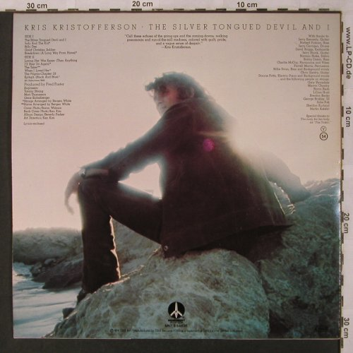 Kristofferson,Kris: The Silver Tongued Devil and I, Monument(MNT S 64636), NL,  - LP - X2919 - 6,00 Euro