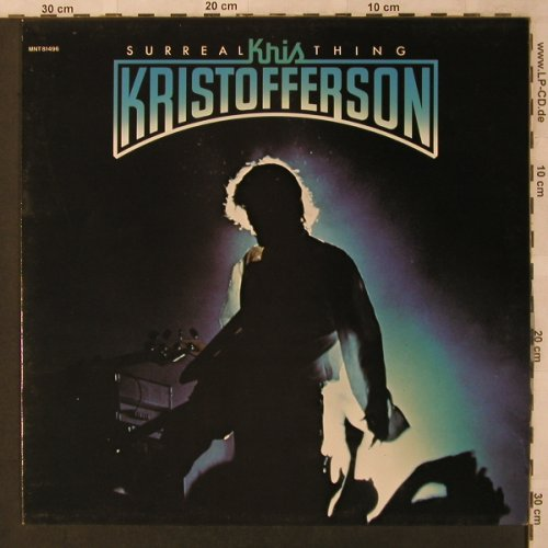 Kristofferson,Kris: Surreal Thing, Monument(MNT 81496), NL, 1976 - LP - X2923 - 7,50 Euro