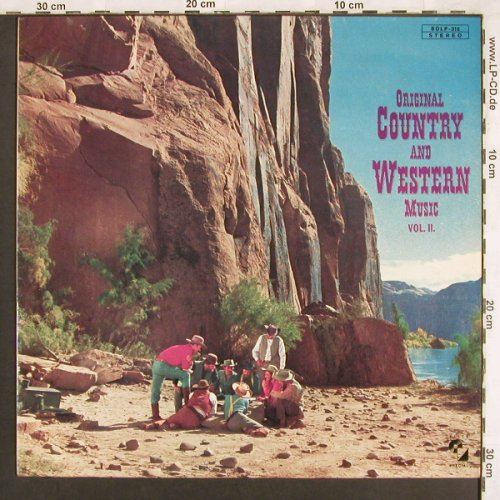 V.A.Original Country&Western Music: Vol.2-Bob Morris...Don Whitley, Elite(SOLP-310), D, 14 Tr,  - LP - X3437 - 5,00 Euro