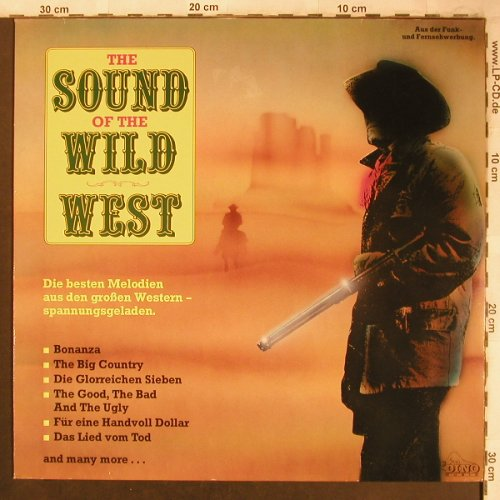V.A.The Sound of the Wild West: Bonanza,Das Lied vom Tod,instrum., Dino(LP 1881), D, 1988 - LP - X4500 - 4,00 Euro