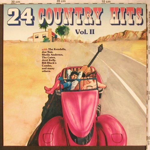 V.A.24 Country Hits Vol.2: Kendalls...Bill Black Combo, Intercord(INT 155.037), D,24Tr.Foc, 1979 - 2LP - X4593 - 6,50 Euro