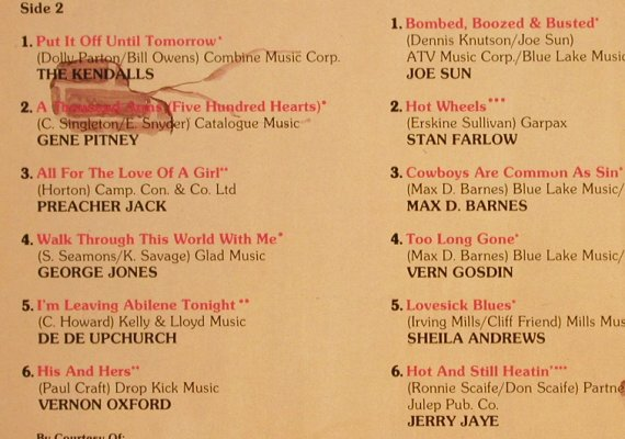 V.A.24 Country Hits Vol.3: Joe Sun...Jerry Jaye, Intercord(INT 155.045), D,24Tr.Foc, 1981 - 2LP - X4594 - 6,50 Euro
