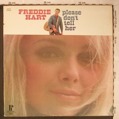 Hart,Freddie: Please don't tell her (Hawaii), Hilltop/Pickwick(JS-6132), US, co,  - LP - X5466 - 7,50 Euro