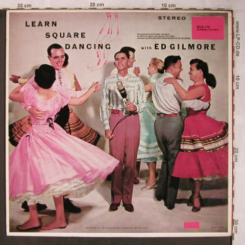 Gilmore,Ed: Learn Square Dancing with, MCA(MCA-179), US,  - LP - X5524 - 9,00 Euro