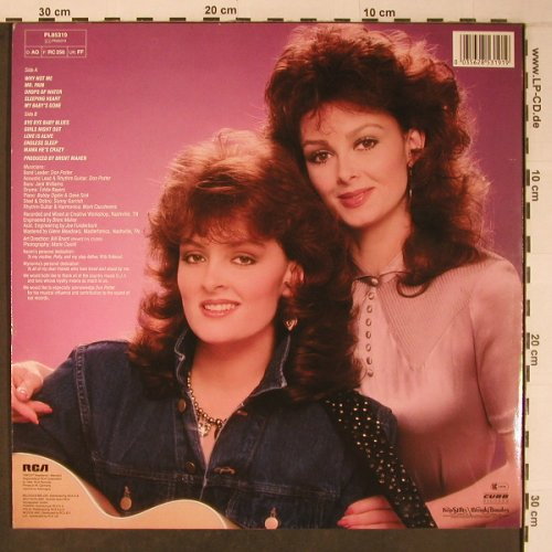 Judds: Why not me, RCA(PL85319), D, 1984 - LP - X6369 - 15,00 Euro