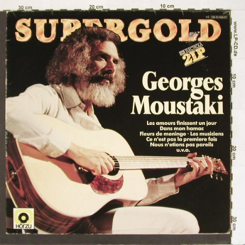 Moustaki,Georges: Supergold,Foc, EMI(134-51 456/57), D,  - 2LP - A439 - 7,50 Euro