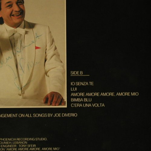 Diverio,Joe: Beirut Addio, Woc, Nick Meric(CA 94868), F, 88 - LP - B792 - 5,00 Euro