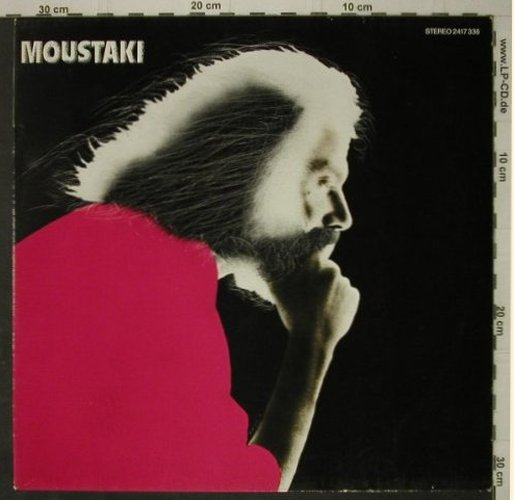 Moustaki,Georges: Moustaki, Polydor(2417 336), D, 1977 - LP - C7444 - 5,50 Euro