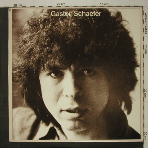 Schaefer,Gaston: Same, co, Warner(XFLP 56489), CDN, 1978 - LP - C7618 - 5,00 Euro
