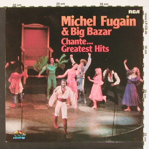 Fugain,Michel & Big Bazar: Chante..Greatest Hits, RCAorange(26.21672), D, 76 - LP - C957 - 5,00 Euro