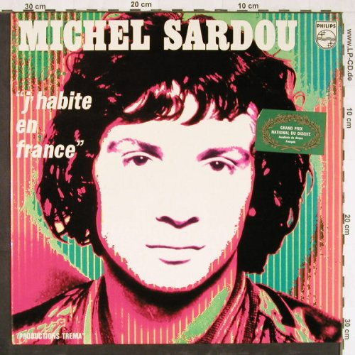 Sardou,Michel: J'Habite en France, Philips(6311 056), F,  - LP - E2432 - 5,00 Euro