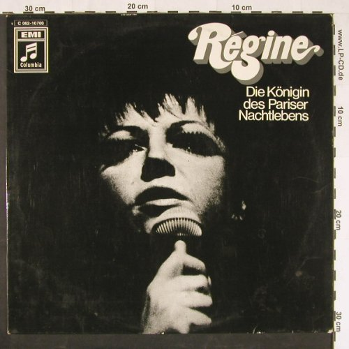 Regine: Same, EMI Columbia(C 062-10 7000), D,  - LP - E509 - 7,50 Euro