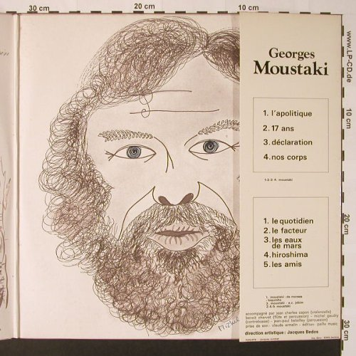 Moustaki,Georges: Concert, Foc, Polydor(2669 007), F, 1973 - 2LP - F2585 - 9,00 Euro