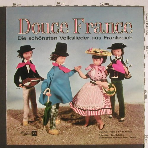 Ensemble Vocal d'lle de France: Douce France(Volkslieder), Concert Hall(SVS 2352), F,  - LP - F6091 - 6,00 Euro