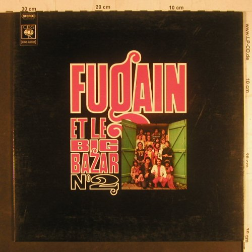 Fugain,Michel & Big Bazar: No.2, Foc, CBS(65 925), F, 1973 - LP - F6164 - 6,00 Euro