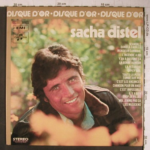 Distel,Sascha: Le Disque de'Or, Foc, Columbia/EMI(C 066-16057), F, 1975 - LP - F8149 - 6,00 Euro