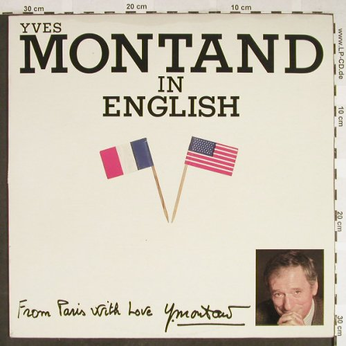 Montand,Yves: In English, Philips(6313 489), CDN, 1983 - LP - H1950 - 7,50 Euro