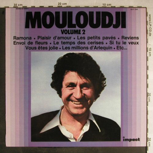 Mouloudji: Same, Vol.2, Impact(6371 358), F,  - LP - H9086 - 5,00 Euro