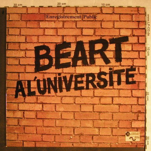 Guy Beart: Beart A L'Universite, Foc(rec2,vg+), Disques Temporel(GB 00011/12), F, woc, 1971 - 2LP - H9089 - 6,00 Euro