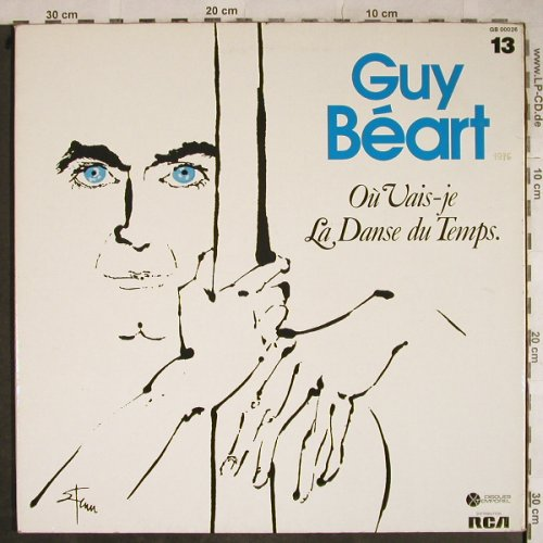 Guy Beart: Ou Vais-je La Danse du Temp, Foc, Disques Temporel(GB 00026), F, m-/vg+, 1979 - LP - H9249 - 5,50 Euro