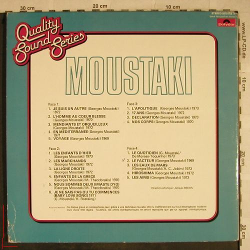 Moustaki: Same, Quality Sound Series, m-/vg+, Polydor(2670 153), NL, Ri,  - LP - H9544 - 5,00 Euro