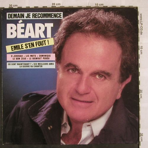 Guy Beart: Demain je recommence, Disques Temporel(TEM GB 00037), F, 1986 - LP - H9810 - 7,50 Euro