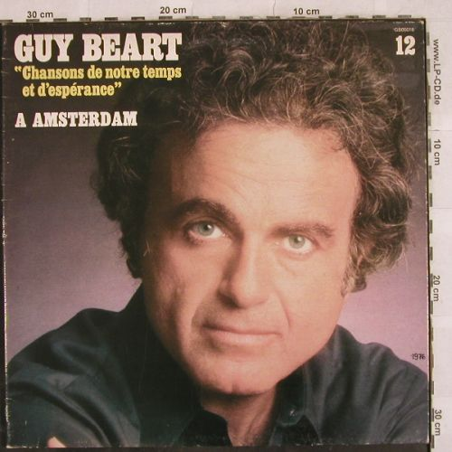 Guy Beart: A Amsterdam, Foc, m-/vg+, Disques Temporel/RCA(GB 00018), F, 1976 - LP - H9811 - 6,00 Euro