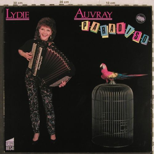 Auvray,Lydie: Paradiso, Pläne(88341), D, 1983 - LP - H9871 - 3,00 Euro