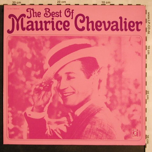 Chevalier,Maurice: The Best of, Foc, woc, stoc, Columbia(C 148-11884/85M), D,  - 2LP - X1164 - 9,00 Euro