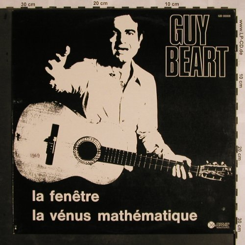 Guy Beart: La Fenetre-La Venus Mathemathique, Disques Temporel(GB 00006), F, m-/vg+, 1973 - LP - X1178 - 7,50 Euro