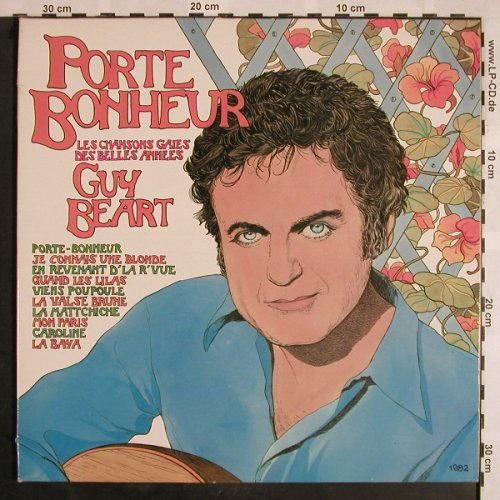 Guy Beart: Porte Bonheur, Foc, Disques Temporel(GB 00035), F, 1983 - LP - X1180 - 7,50 Euro