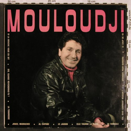 Mouloudji: No.4, Disques Mouloudji(EMZ 13612), F,  - LP - X1232 - 7,50 Euro