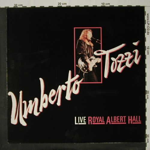 Tozzi,Umberto: Live Royal Albert Hall, CGD(209 260), D, 1988 - LP - C8420 - 5,00 Euro