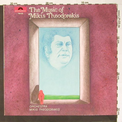 Theodorakis,Mikis - Orchestra: The Music of, Polydor(184 123), D, Ri, 1967 - LP - B7619 - 6,00 Euro