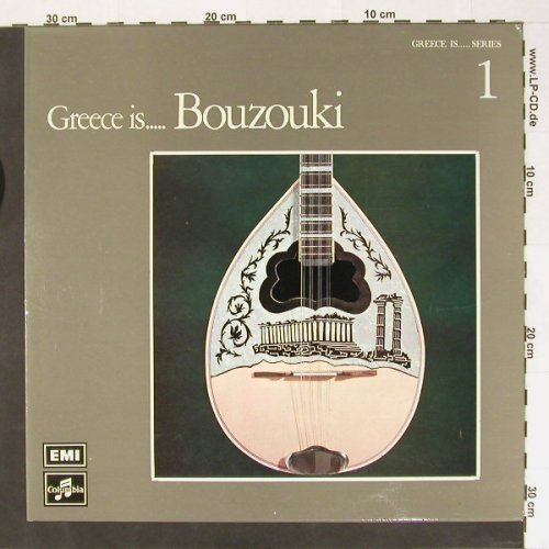V.A.Greece is..: Bouzouki, Columb.EMI(2J 054-70004), Greece, 73 - LP - B8411 - 6,00 Euro