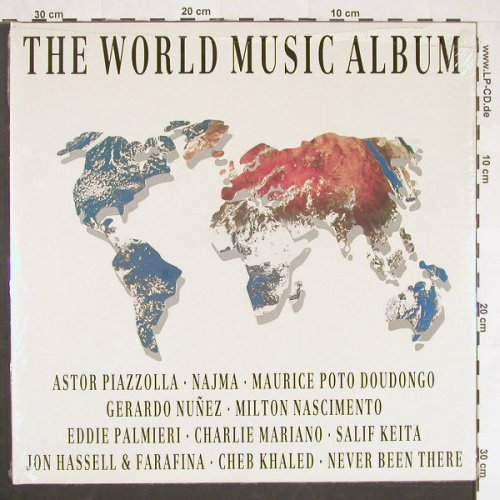V.A.World Music Album: Piazolla,Najma,Nasciment,Foc,FS-New, Intuition(No.10), D, 1988 - LP - C9858 - 7,50 Euro