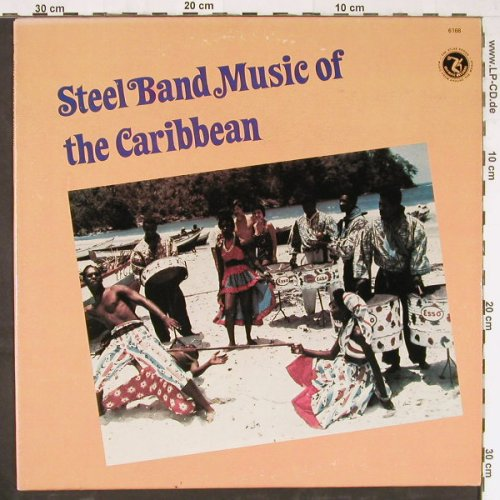 Nite Blues Steel Band: Steel Band Music Of The Carribean, Olympic(6168), US, 1980 - LP - E2945 - 5,00 Euro