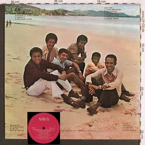 Wirtz,John & the New Les Boys: Souvenier of Seychelles, Best of, Rays(RM-LP-1), Foc,  - LP - E3443 - 6,00 Euro