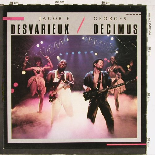 Desvarieux,Jacob F+G.Decimus: Same, G.D. Productions(GD 022), F, 1984 - LP - E3596 - 5,00 Euro