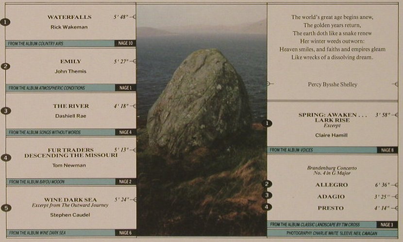 V.A.Standing Stones: A New Age Comp.,9 Tr., Coda(NAGE5), UK, 1986 - LP - F4884 - 5,00 Euro