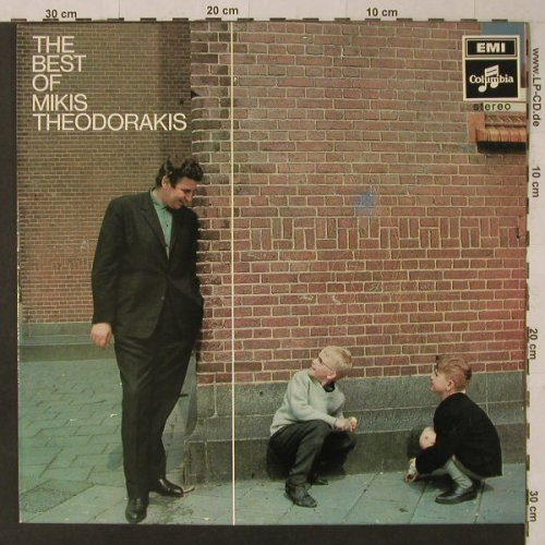 Theodorakis,Mikis: The Best Of, m-/vg+, woc, EMI Columbia(5 C 054-80385), NL,  - LP - F5684 - 4,00 Euro