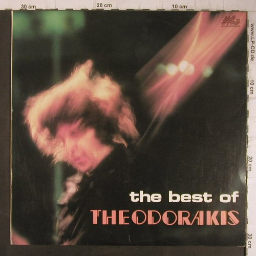 Theodorakis,Mikis: The Best Of, Margophone(MARGO 8157), GR, 1976 - LP - F8155 - 6,00 Euro