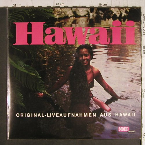 Royal Tahitians: Hawaii, orign Live-Aufnahme, vg+/m-, Mode/DOT Recording(MIDS 16039), D,  - LP - F9249 - 4,00 Euro