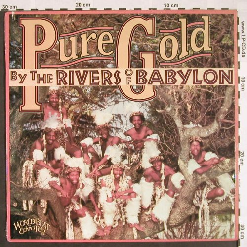 Pure Gold: By the Rivers of Babylon, Shanachie(64018), US, co, 1989 - LP - F9614 - 5,00 Euro