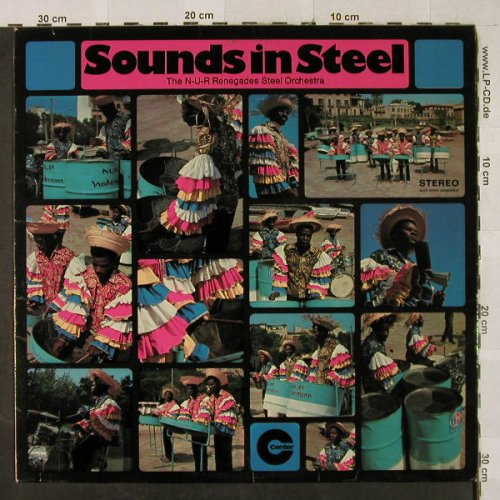 N-U-R Renegades Steel Orchestra: Sounds in Steel, Live at Mallorca, Center/Neckermann(CEN 17050), D, 1969 - LP - H3025 - 6,50 Euro