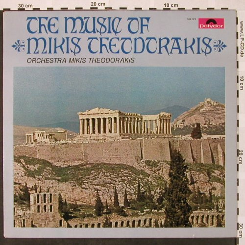 Theodorakis,Mikis - Orchestra: The Music Of, vg+/m-, Polydor(184 123), D, 1967 - LP - H4093 - 4,00 Euro