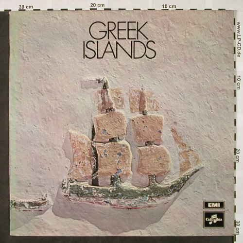 V.A.Greek Islands: N.Xylouris...Hadjidakis,Foc,Booklet, Columbia(SCXG 71), GR,  - LP - H4157 - 7,50 Euro