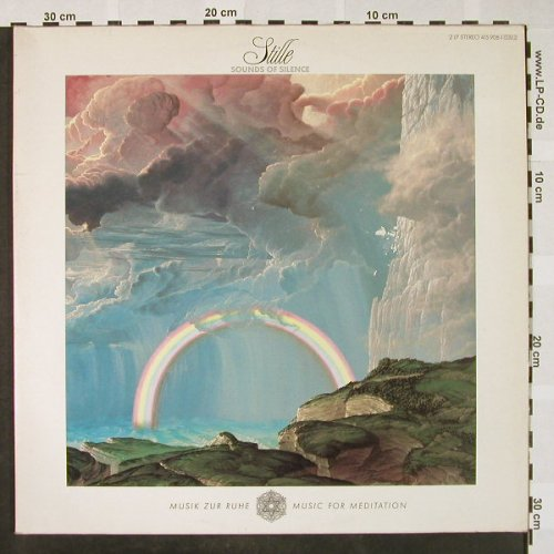 V.A.Musik zur Ruhe/..for Meditation: Stille, Sound of Silence,Foc, Polydor/D.Gr.(415 908-1), D, 1986 - 2LP - H4237 - 6,00 Euro