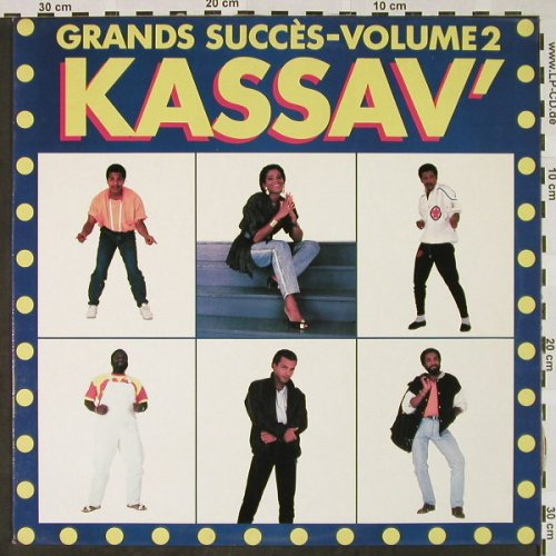 Kassav': Grands Succès-Volume 2, G D Productions(GD 1502), F, 1987 - LP - H4482 - 7,50 Euro