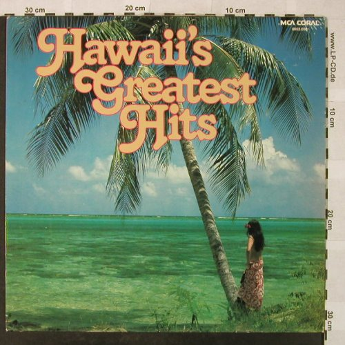 New Hawaiian Band: Hawaii's Greatest Hits, m-/vg+, MCA(0052.038), D, 1973 - LP - H5313 - 4,00 Euro